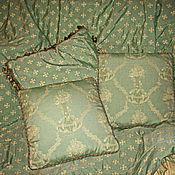 Для дома и интерьера ручной работы. Ярмарка Мастеров - ручная работа Комплект диванных подушек из жаккардовой ткани. Handmade.