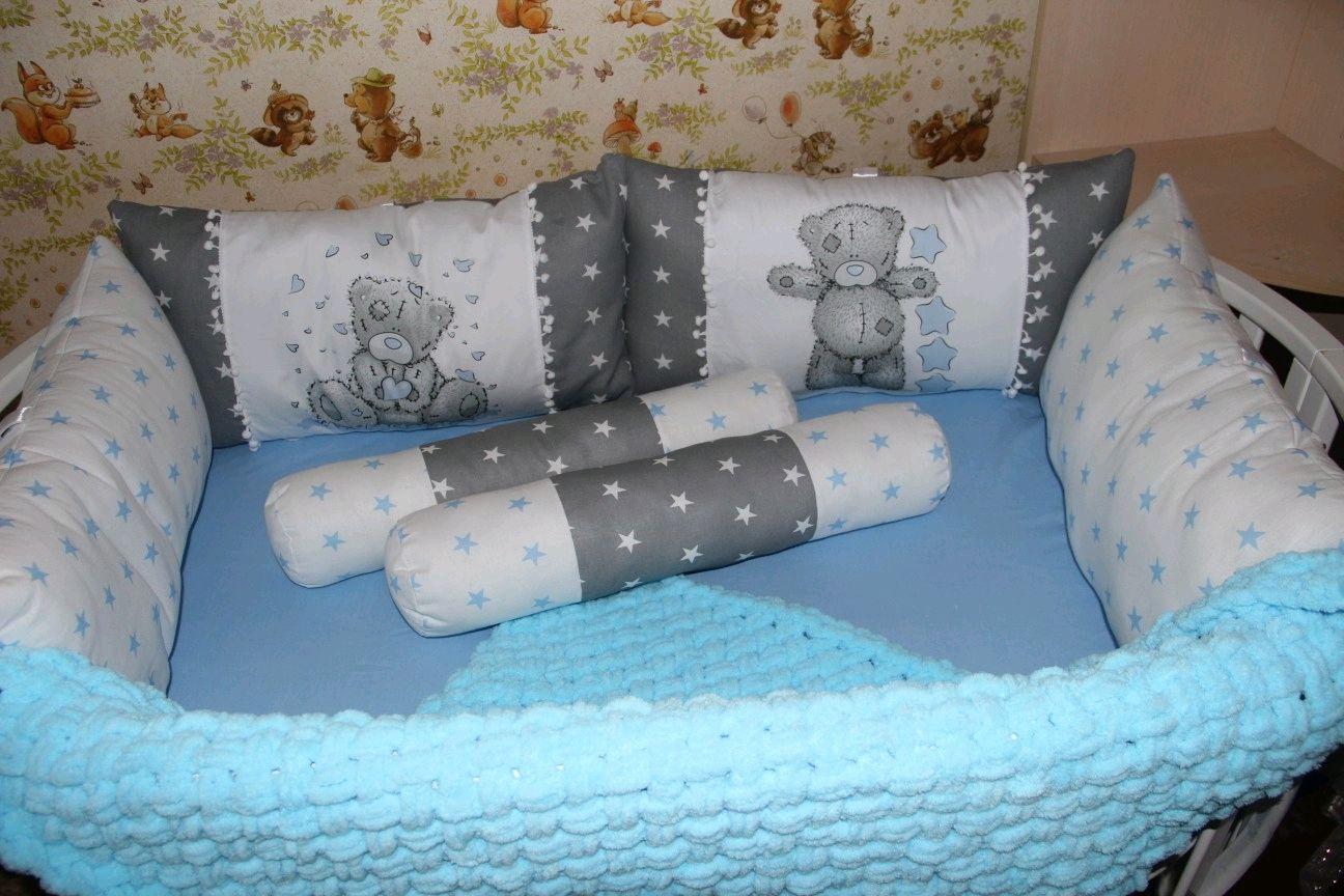Набор в кроватку для малыша, Бортики в кроватку, Углич,  Фото №1