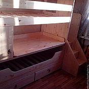 Для дома и интерьера ручной работы. Ярмарка Мастеров - ручная работа Двухярусная кровать. Handmade.