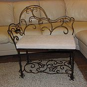 Для дома и интерьера handmade. Livemaster - original item Wrought iron bench. Handmade.