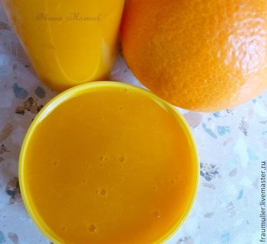 """Для снятия макияжа ручной работы. Ярмарка Мастеров - ручная работа. Купить Средство для умывания """"Рыжая фея"""". Handmade. Оранжевый"""