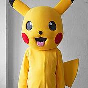 Дизайн и реклама handmade. Livemaster - original item Pikachu. Life-size puppet. Handmade.