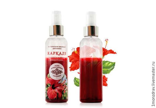 Фитоспрей для волос Каркаде - пышность и сияние волос каждый день!