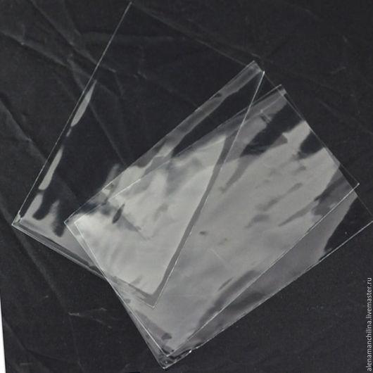 Упаковка ручной работы. Ярмарка Мастеров - ручная работа. Купить Пакет 4 х 6 см. без клапана и скотча прозрачный. Handmade.