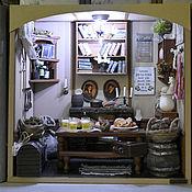 Сувениры и подарки handmade. Livemaster - original item THE HOUSE of BILBO BAGGINS miniature on the bookshelf. Handmade.
