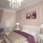 Дизайн и реклама ручной работы. Ярмарка Мастеров - ручная работа Спальная комната. Handmade.