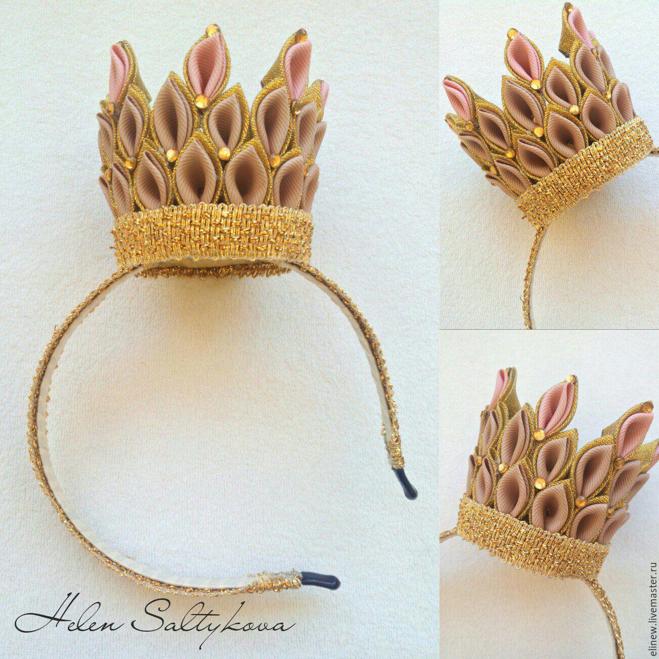 Маленькая корона на ободке