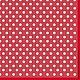 Мелкий горох на красном (SLOG023103) - салфетка для декупажа, , Москва, Фото №1
