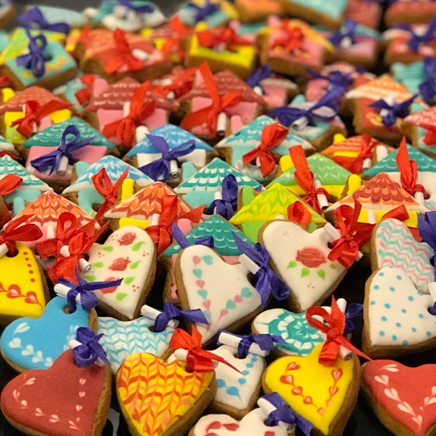 Gingebread (cakes) with prediction / small, Gingerbread Cookies Set, Moscow,  Фото №1