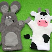 Куклы и игрушки handmade. Livemaster - original item Toys on hand (glove toy). Handmade.