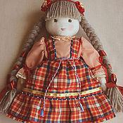 Стина, 30 см, вальдорфская кукла в стиле фолк
