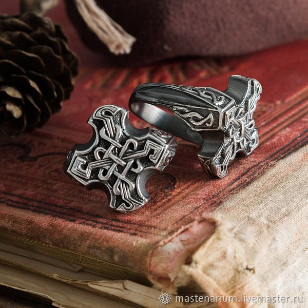 Ring Celtic eternal knot. The endless knot. bronze silver, Rings, Moscow,  Фото №1