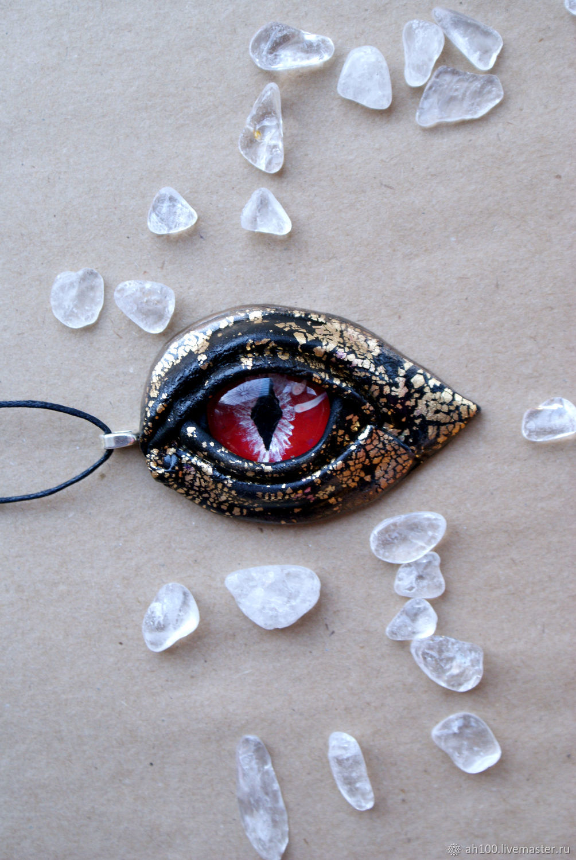 Кулон Дракон. Кулон глаз дракона. Дракон, Украшения, Новосибирск,  Фото №1