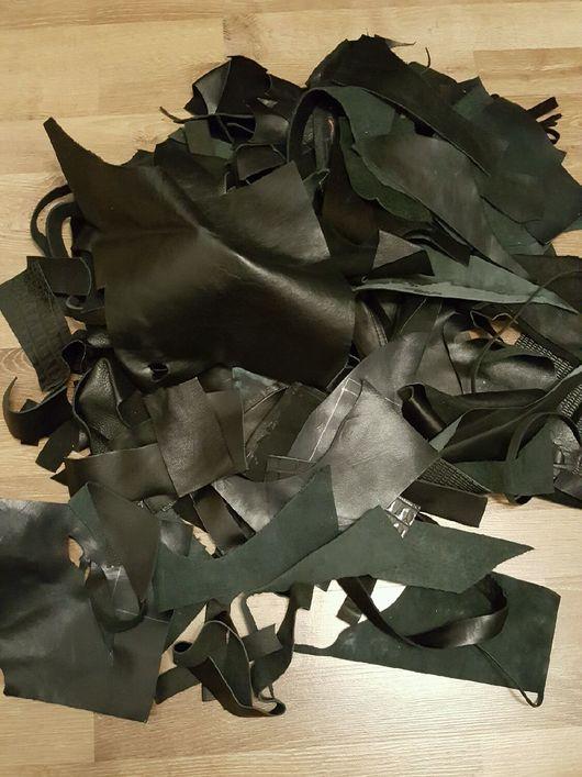 Рюкзаки ручной работы. Ярмарка Мастеров - ручная работа. Купить Обрезь натуральной кожи. Handmade. Обрезь, кожа, овчина