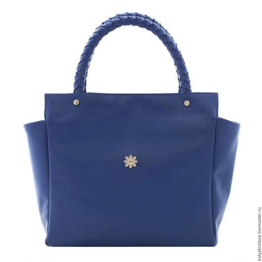 Женские сумки ручной работы. Ярмарка Мастеров - ручная работа. Купить Синяя Софи. Handmade. Синий, натуральная кожа