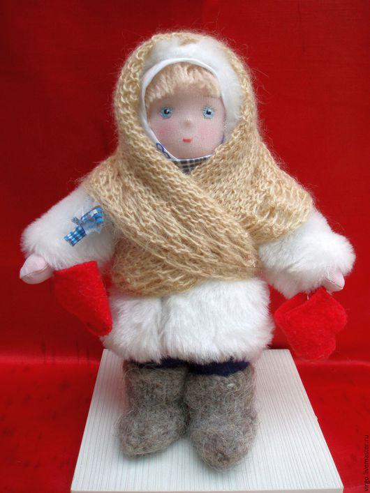 Человечки ручной работы. Ярмарка Мастеров - ручная работа. Купить текстильная кукла Ната. Handmade. Комбинированный, кукла в подарок, шерсть