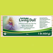 Материалы для творчества ручной работы. Ярмарка Мастеров - ручная работа Super Living Doll полимерная глина запекаемая 454г Артикул ZSLD3. Handmade.