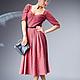 """Платья ручной работы. Ярмарка Мастеров - ручная работа. Купить Платье """"Кэтрин"""". Handmade. В клеточку, теплое платье, шерсть"""