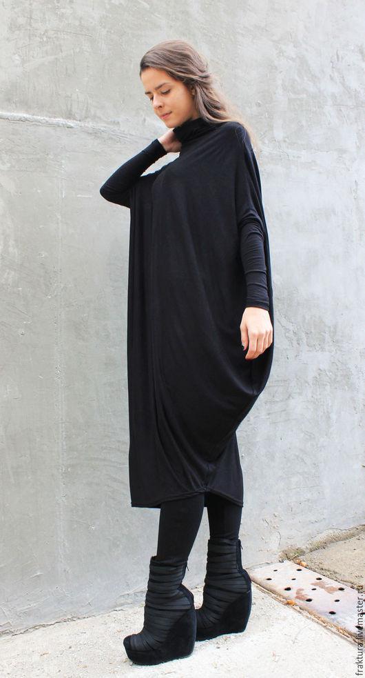 """Платья ручной работы. Ярмарка Мастеров - ручная работа. Купить Платье """"Black M"""" D0014. Handmade. Тренд сезона"""