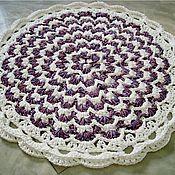 Для дома и интерьера handmade. Livemaster - original item Round rug, knotted cord Italy-4. Handmade.