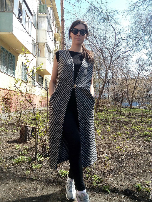 Coat-vest coat Italy, Coats, Novosibirsk,  Фото №1