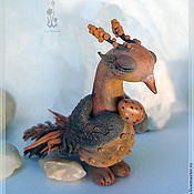 Для дома и интерьера ручной работы. Ярмарка Мастеров - ручная работа Юнна - птица Терпеливой Полыни. Handmade.