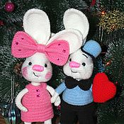 Stuffed Toys handmade. Livemaster - original item It lyubofff). Handmade.