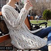 Одежда handmade. Livemaster - original item Long cardigan knitted