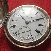 Винтаж ручной работы. Ярмарка Мастеров - ручная работа Серебрянные часы Павел Буре. Handmade.