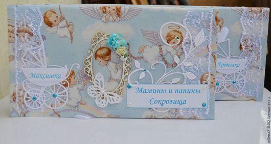 Подарки для новорожденных, ручной работы. Ярмарка Мастеров - ручная работа. Купить Мамины Сокровища для мальчиков. Handmade. Белый, мамины сокровища