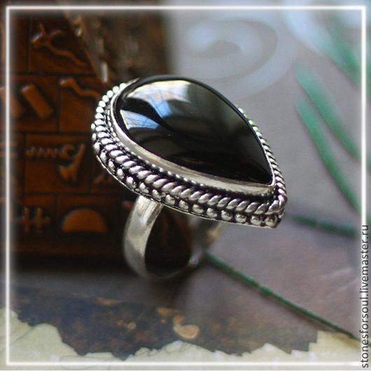 """Кольца ручной работы. Ярмарка Мастеров - ручная работа. Купить кольцо в серебре 925 пр. """"Ночью темной..."""". Handmade."""