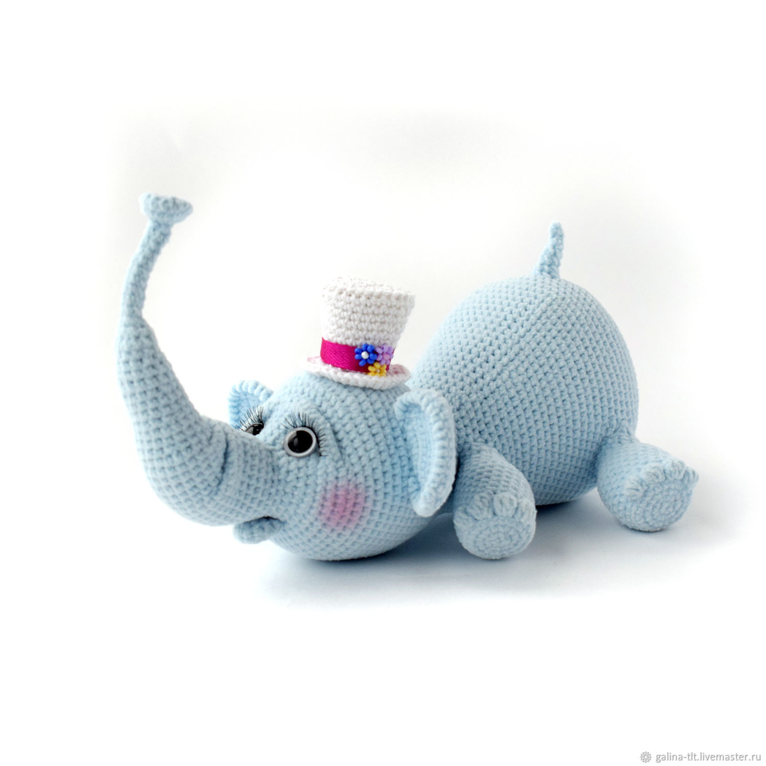 931c539bcc099 Knitted elephant soft toy for children as a gift – заказать на Ярмарке  Мастеров – DNPXRCOM | Игрушки, Tolyatti