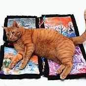 Для дома и интерьера ручной работы. Ярмарка Мастеров - ручная работа Модуль валяного коврика для пэчворк ковра. Handmade.