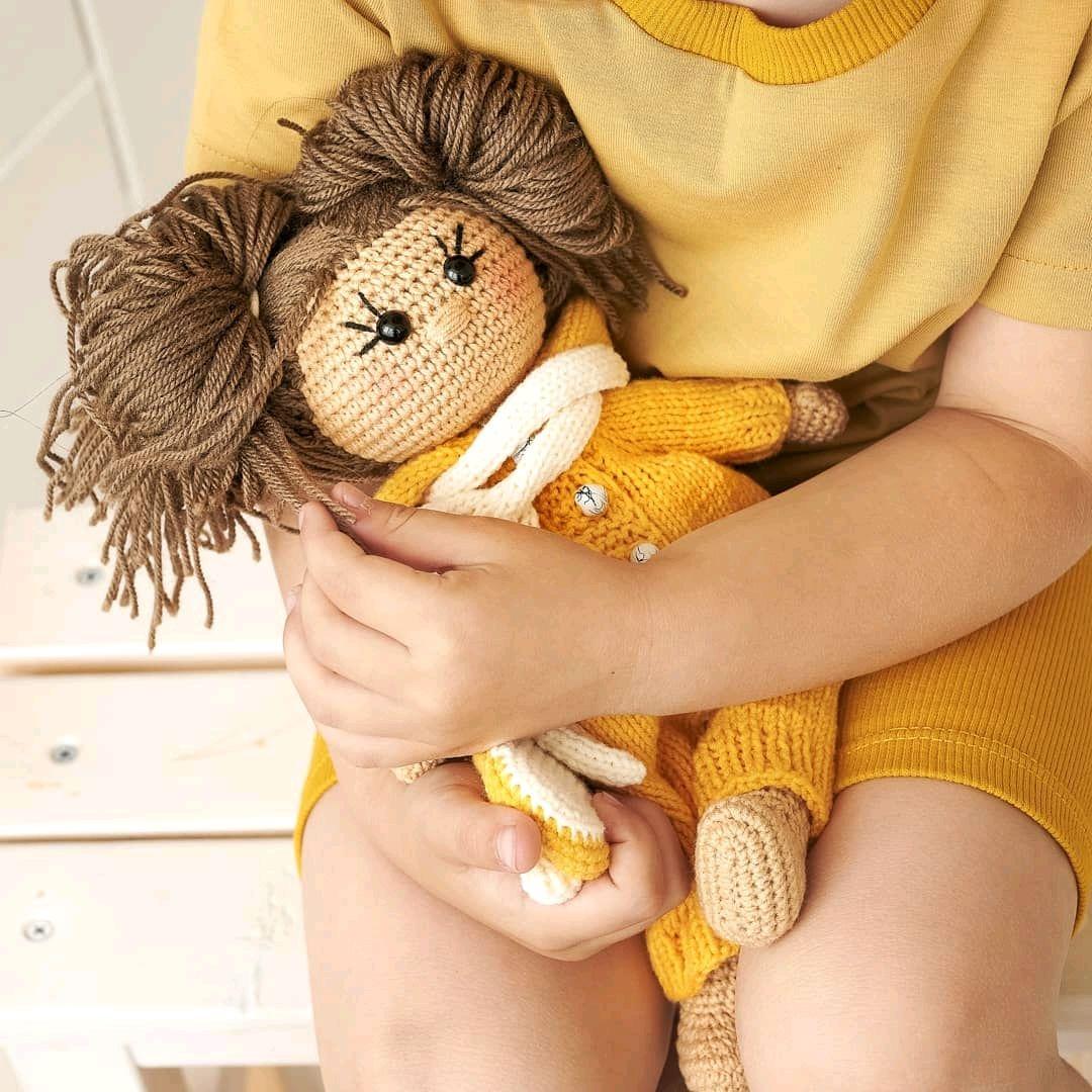 Вязаная кукла, Мягкие игрушки, Ставрополь,  Фото №1