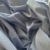 Ткани ручной работы. Ярмарка Мастеров - ручная работа Итальянский рубашечный хлопок. Handmade.
