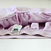 Одежда ручной работы. Ярмарка Мастеров - ручная работа Юбка из шерсти и шелка, на подкладе. Handmade.