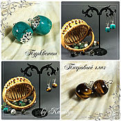 Украшения handmade. Livemaster - original item earrings transformers