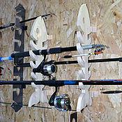 Полки ручной работы. Ярмарка Мастеров - ручная работа Полочки для рыболовов. Handmade.