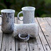 Кружки ручной работы. Ярмарка Мастеров - ручная работа Три кружки дарующих спокойствие. Handmade.