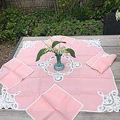 Винтаж handmade. Livemaster - original item Tablecloth with napkins