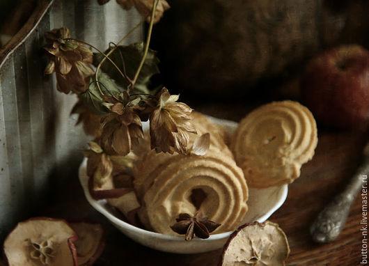 Фотокартины ручной работы. Ярмарка Мастеров - ручная работа. Купить Натюрморт Осенняя сдоба. Handmade. Бежевый, коричневый, анис, печенье