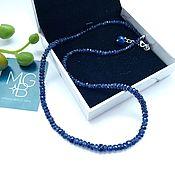 Украшения handmade. Livemaster - original item Necklace with natural sapphires. Handmade.