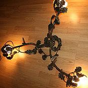 """Для дома и интерьера ручной работы. Ярмарка Мастеров - ручная работа Люстра """"Дуб"""" для натяжных потолков. Handmade."""