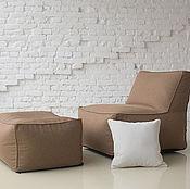 Для дома и интерьера ручной работы. Ярмарка Мастеров - ручная работа Модульное кресло с пуфом TERRA. Handmade.