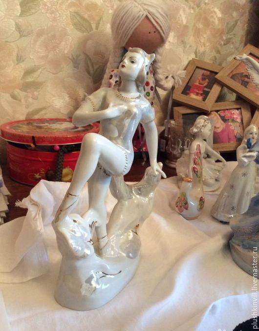 Винтажные сувениры. Ярмарка Мастеров - ручная работа. Купить Балерина Кошка, дфз, 60-ые г. в. Handmade. Комбинированный, советский