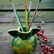Вазы ручной работы. Ярмарка Мастеров - ручная работа Ваза яблоко. Керамика. Ручная работа.. Handmade.