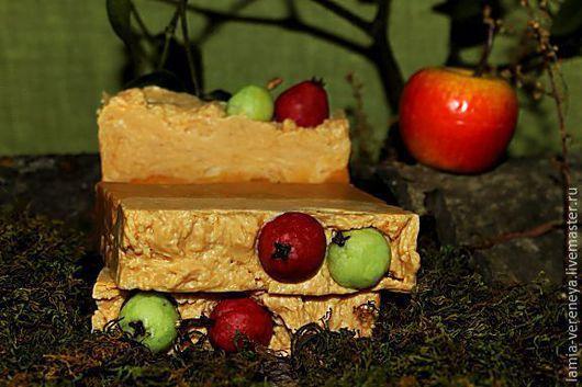 """Мыло ручной работы. Ярмарка Мастеров - ручная работа. Купить Мыло натуральное ручной работы """"Райское яблоко"""". Handmade."""