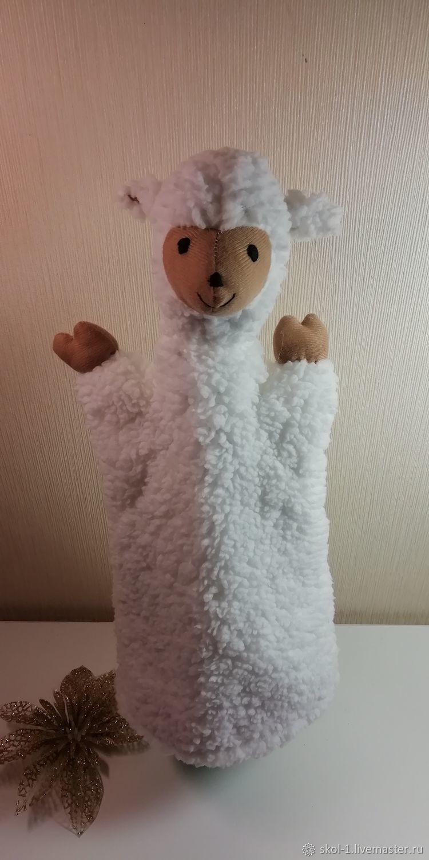 """перчаточная игрушка овечка """"Мила"""", Кукольный театр, Мытищи,  Фото №1"""