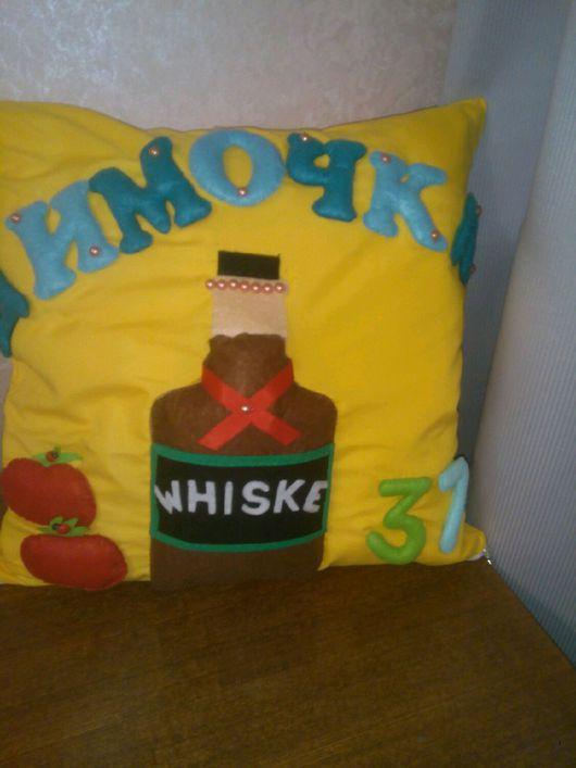 Детская ручной работы. Ярмарка Мастеров - ручная работа. Купить Подушка именная. Handmade. Подушка декоративная, подушка детская, хлопок