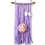 handmade. Livemaster - original item Panel organizer for storing hairpins lilac color. Handmade.
